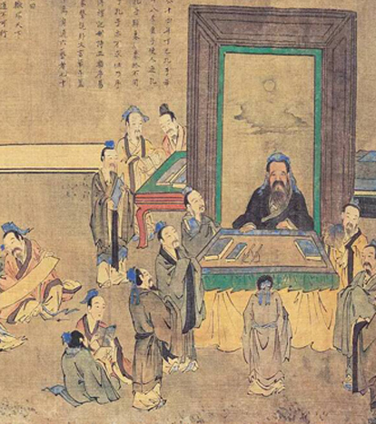 Confucius's influences on Chinese values