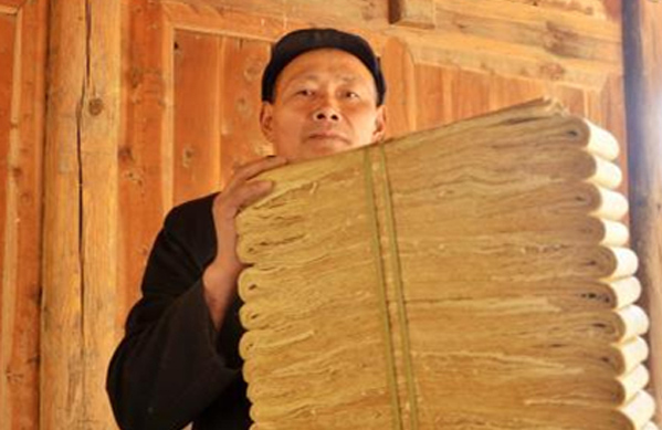 Modern elements help to revive traditional papermaking