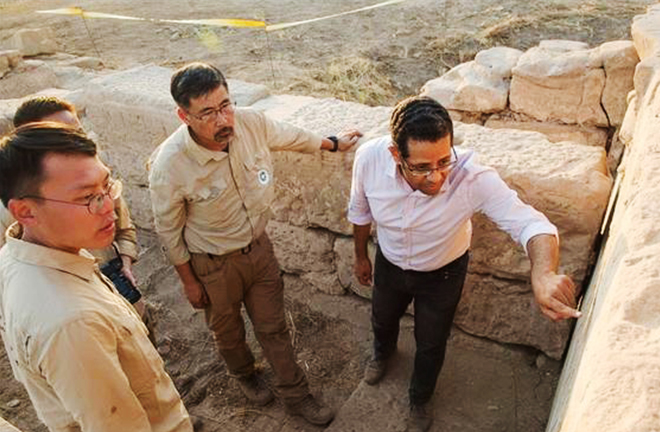 Chinese archaeological mission in Egypt makes discovery