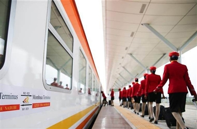 Landmark Kenyan railway enriches China-Africa friendship