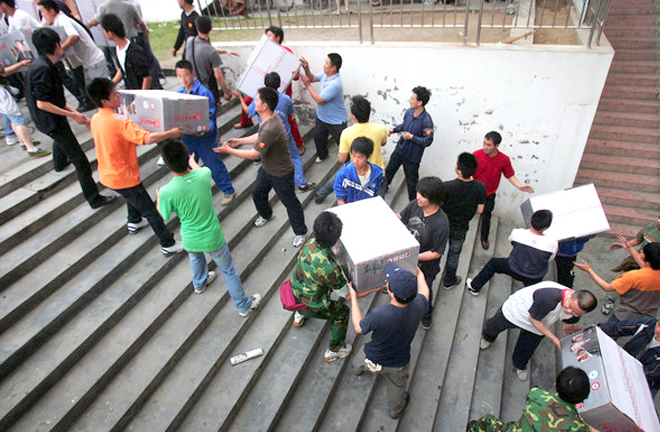 Disaster relief requires orderly social mobilization mechanism