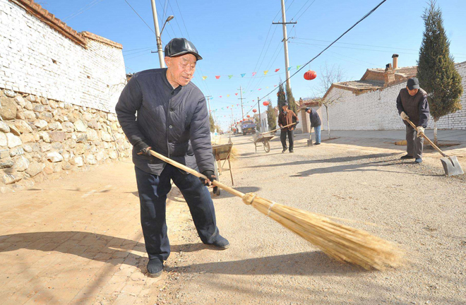 Community building in rural China integrates econonomic, cultural factors