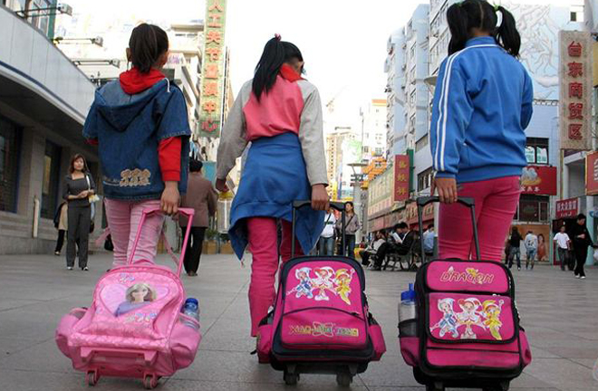 Do Chinese teenagers work too hard after school? A survey examines